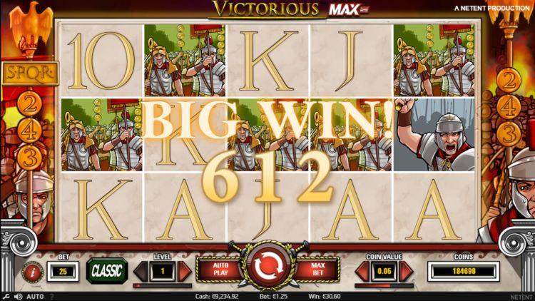 max wins on netent slots